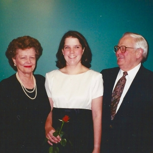 Anne with Grandparents
